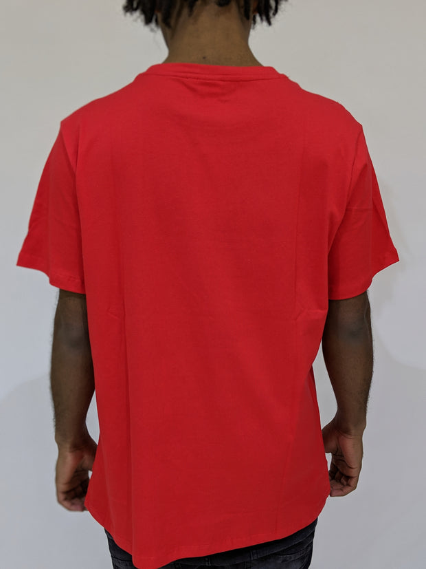 Worthy Box Tee - Red