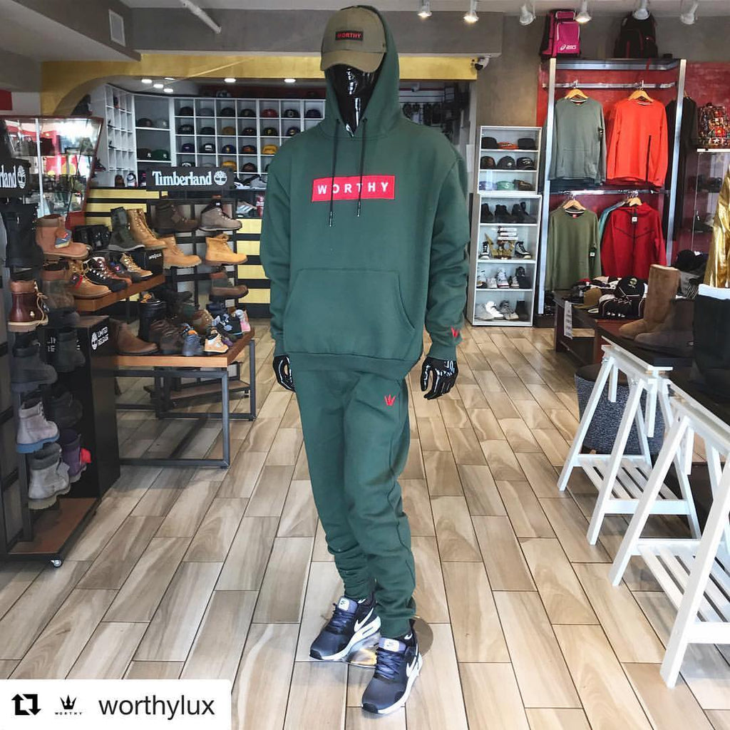 Worthy Green Sweatsuit