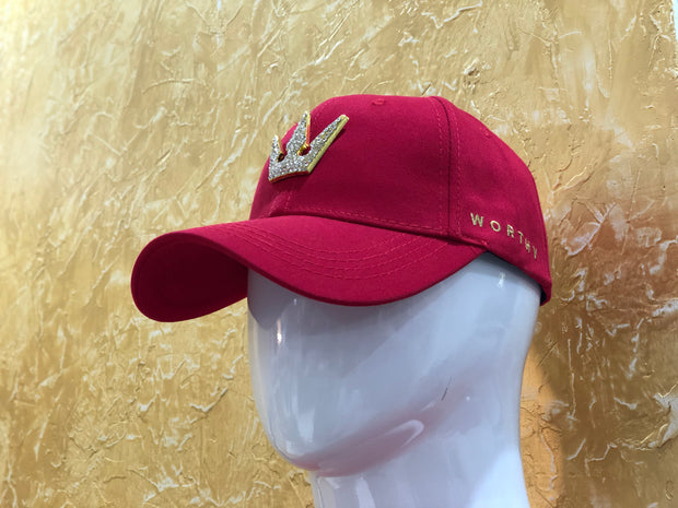 Worthy Dad Hat Crown Stone
