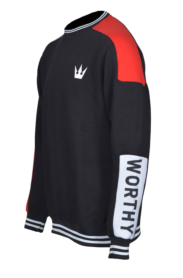 Worthy Sportswear Crew-neck Black