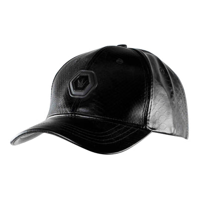 Worthy Emblem Dad Hat - Black Reptile