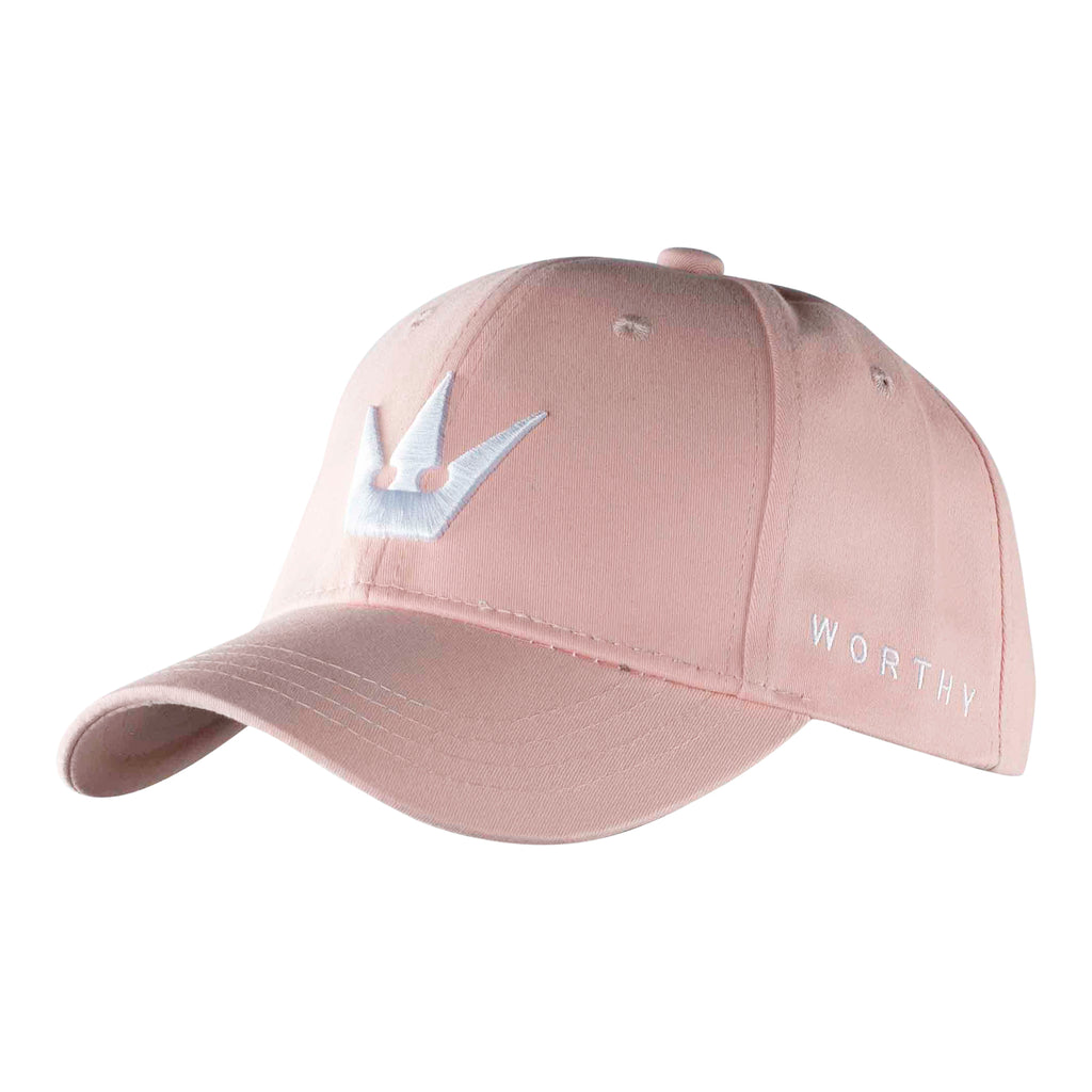 Worthy Crown Dad Hat - Pink