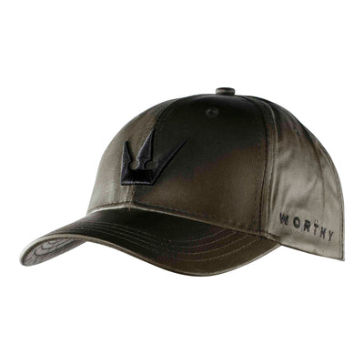 Worthy Crown Dad Hat - Olive Green