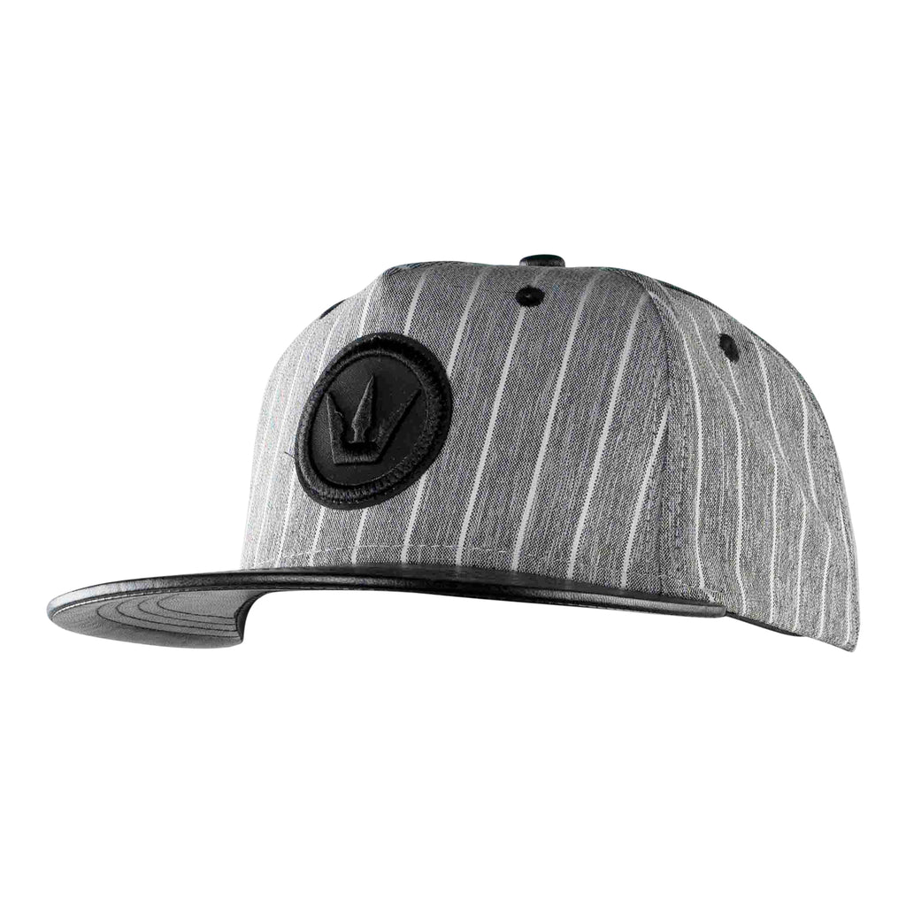 Worthy Stripe Snapback - Gray