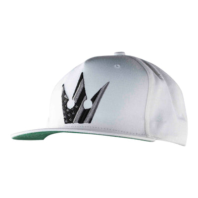 Worthy American Flag Crown Snapback - White