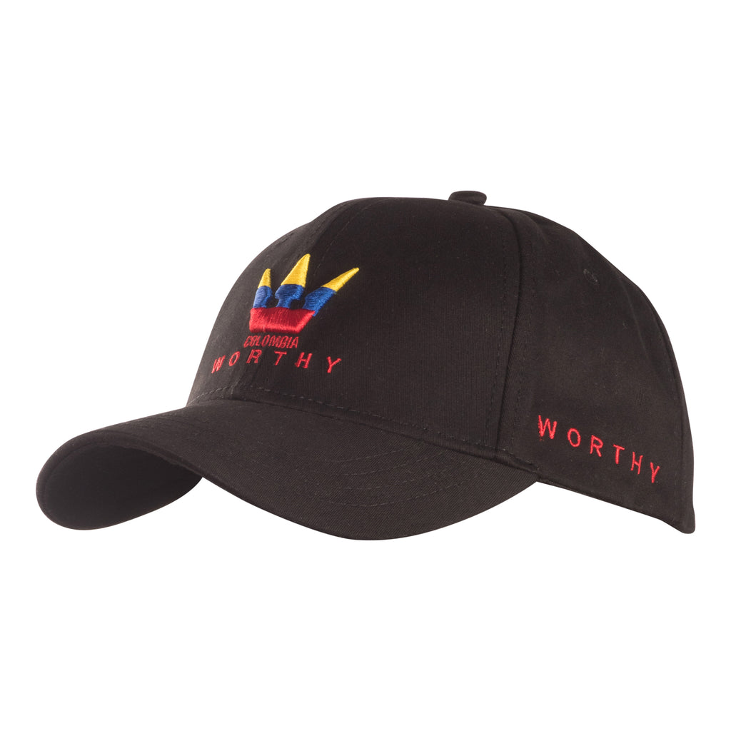 Worthy World Colombia Dad Hat - Black
