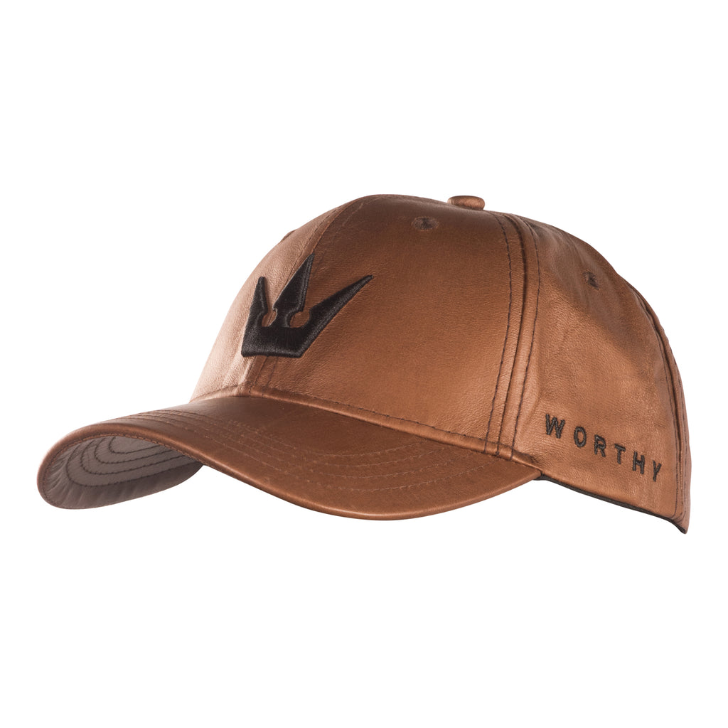 Worthy Crown Dad Hat - Matte Copper