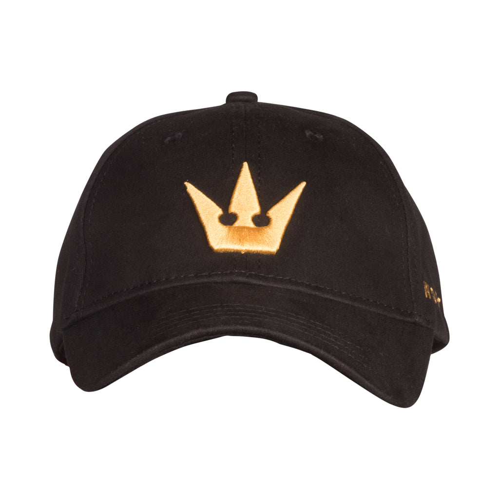 Worthy Black w/ Gold Strapback