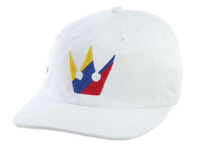 Worthy White Multicolor Strapback