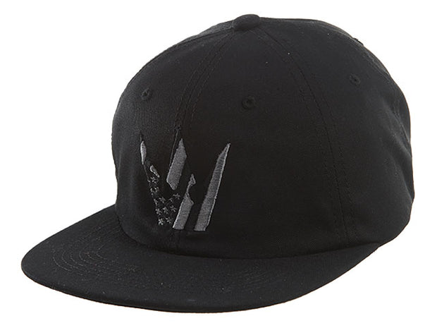 Worthy American Flag Crown Strapback - Black