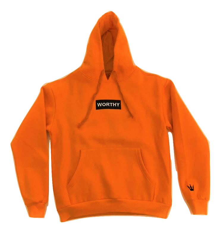 Worthy Box Sweater V2 - Orange