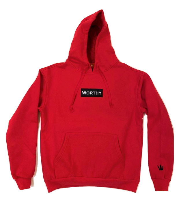 Worthy Box Sweater V2 - Red