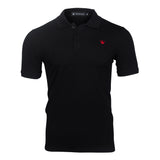 WORTHY BLACK POLO