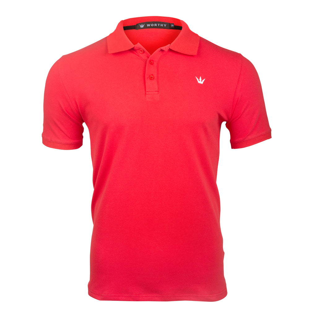 WORTHY RED POLO