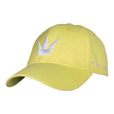 Worthy Crown Dad Hat - Yellow