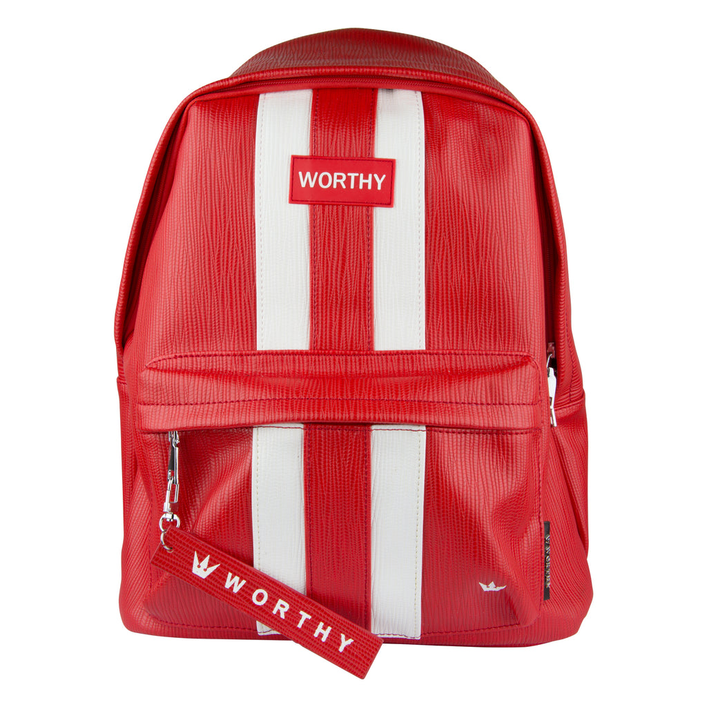 Worthy Red Backpack