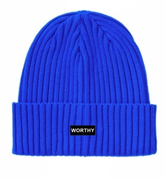 Worthy Beanie Royal Blue