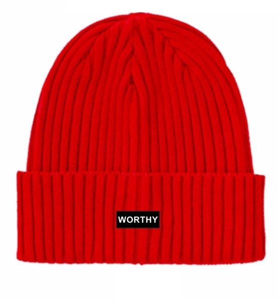 Worthy Beanie Red