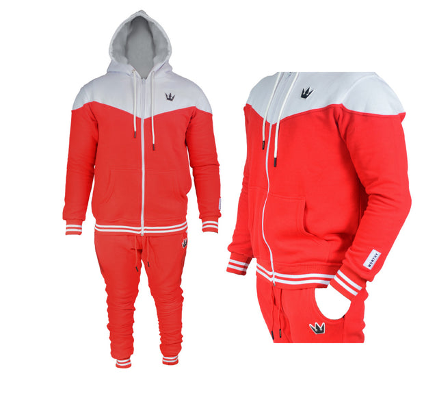 Worthy Sportswear Red & White