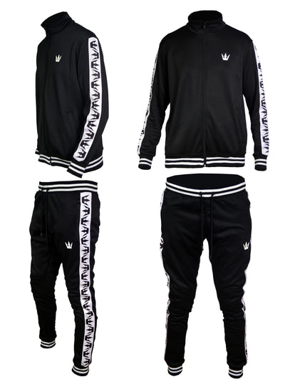 Worthy Tracksuit Black