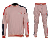 Worthy Sportswear Crew-neck Light Salmon