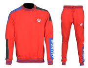 Worthy Sportswear Crew-neck Red