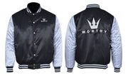 Worthy Varsity Bomber - Black & White