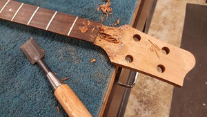 Tacoma Thunderchief Headstock Repair