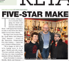 Five Star Guitars Interviewed by Music Inc. Magazine