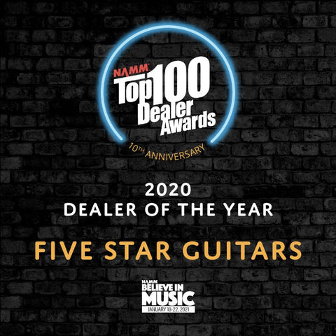 2020 NAMM Dealer Of The Year Five Star Guitars