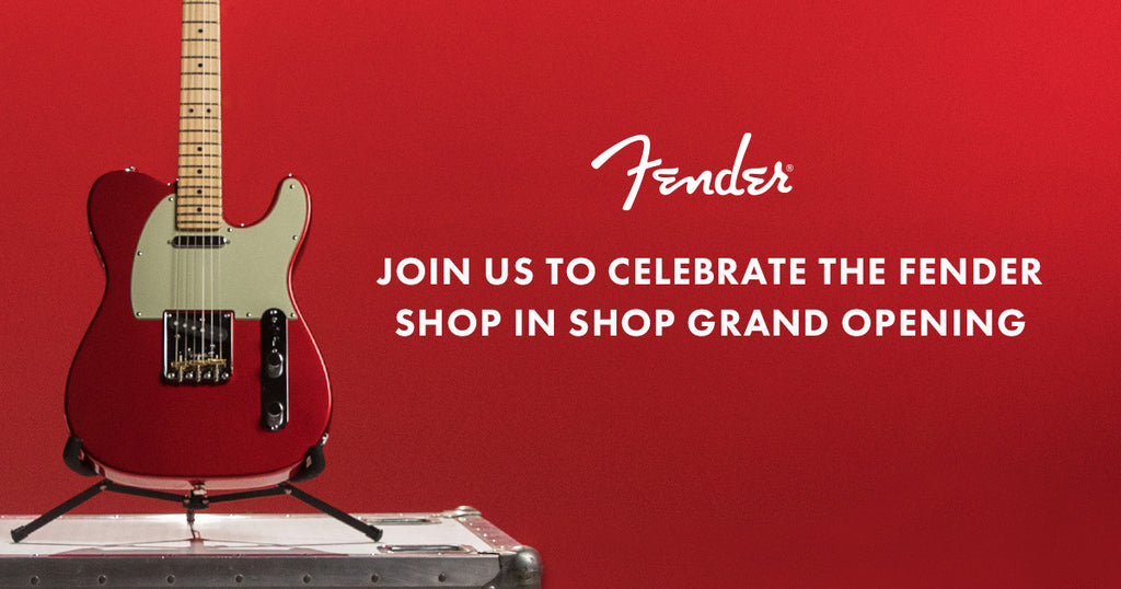 Fender and Five Star Guitars Shop In Shop Grand Opening