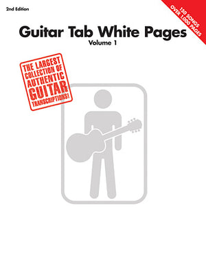 HL Guitar Tab White Pages Vol 1
