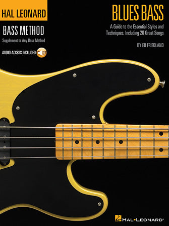 Hal Leonard Blues Bass