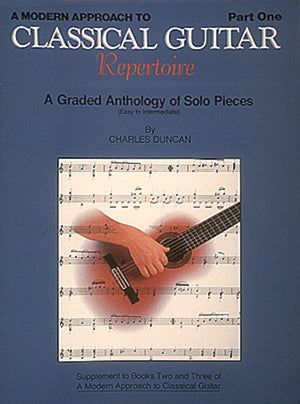 HL Classical Guitar Repertoire Pt1