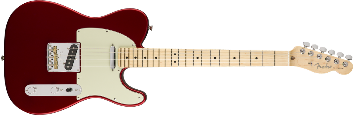 American Pro Telecaster, Maple Fingerboard, Candy Apple Red