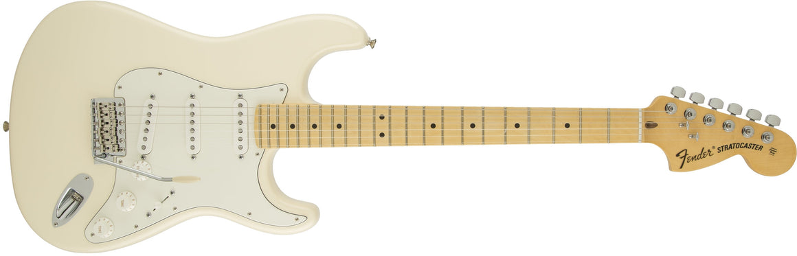 American Special Stratocaster, Maple Fingerboard, Olympic White