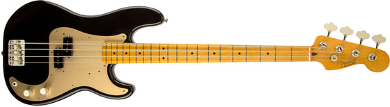 '50s Precision Bass Lacquer, Maple Fingerboard, Black