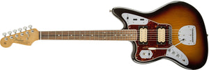 Kurt Cobain Jaguar Left-Handed, Rosewood Fingerboard, 3-Color Sunburst
