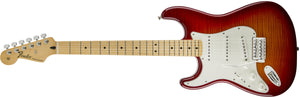Standard Stratocaster Plus Top Left-Handed, Maple Fingerboard, Aged Cherry Burst