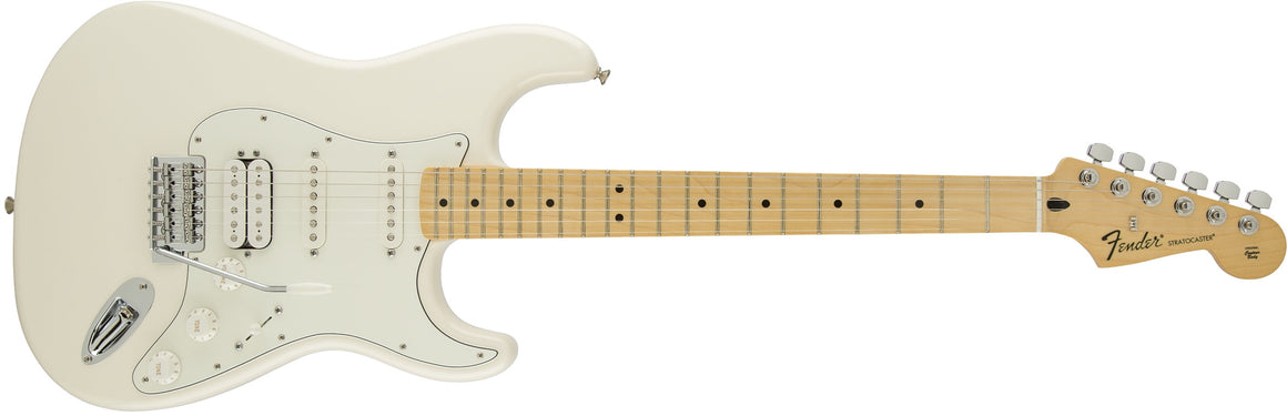 Standard Stratocaster HSS, Maple Fingerboard, Arctic White