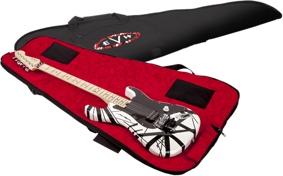 EVH Gig Bag Black W/Red Interior
