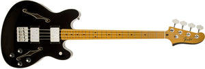Starcaster Bass, Maple Fingerboard, Black
