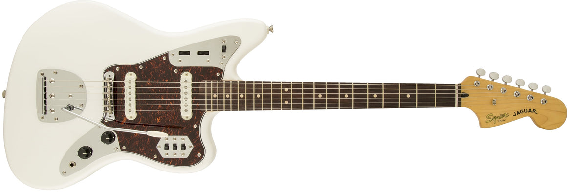 Vintage Modified Jaguar, Rosewood Fingerboard, Olympic White