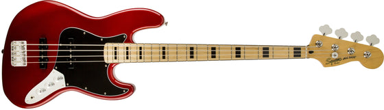 Vintage Modified Jazz Bass '70s, Maple Fingerboard, Candy Apple Red