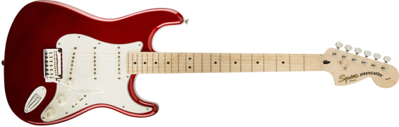Squier Standard Stratocaster, Maple Fingerboard, Candy Apple Red