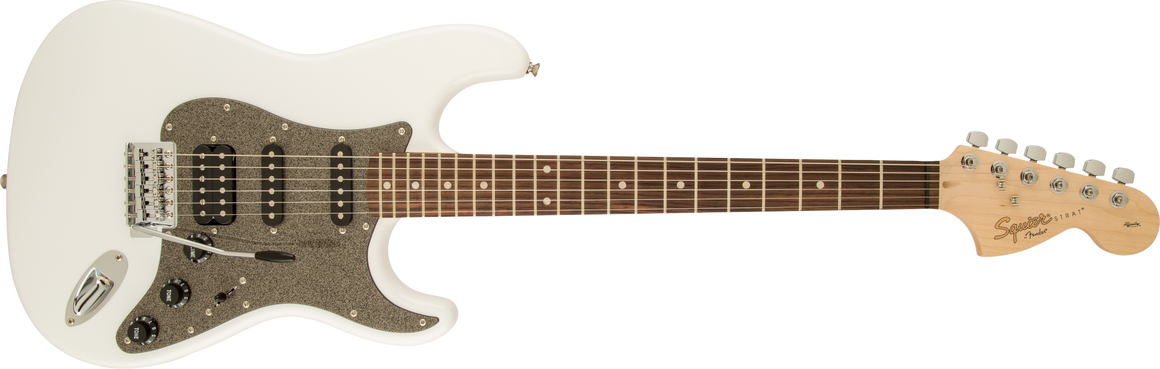 Squier Affinity Stratocaster HSS Laurel Fingerboard - Olympic White
