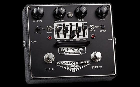 Mesa BoogieThrottle Box EQ