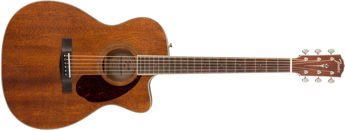 PM-3 Triple-0 All Mahogany with Case, Natural