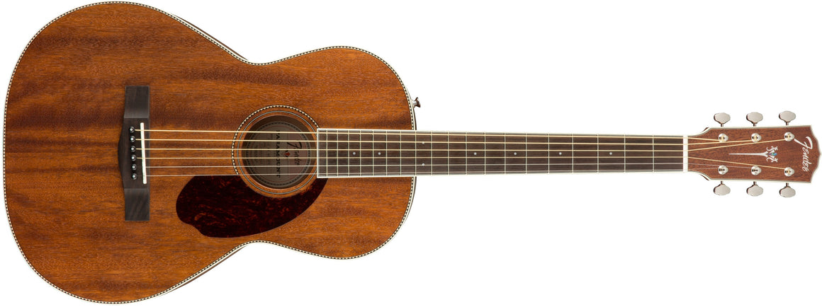 PM-2 Parlor All Mahogany with Case, Natural