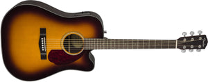 CD-140SCE with Case, Sunburst